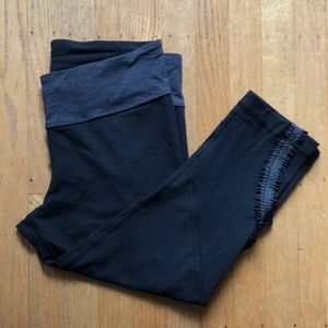 Lululemon capri running pants